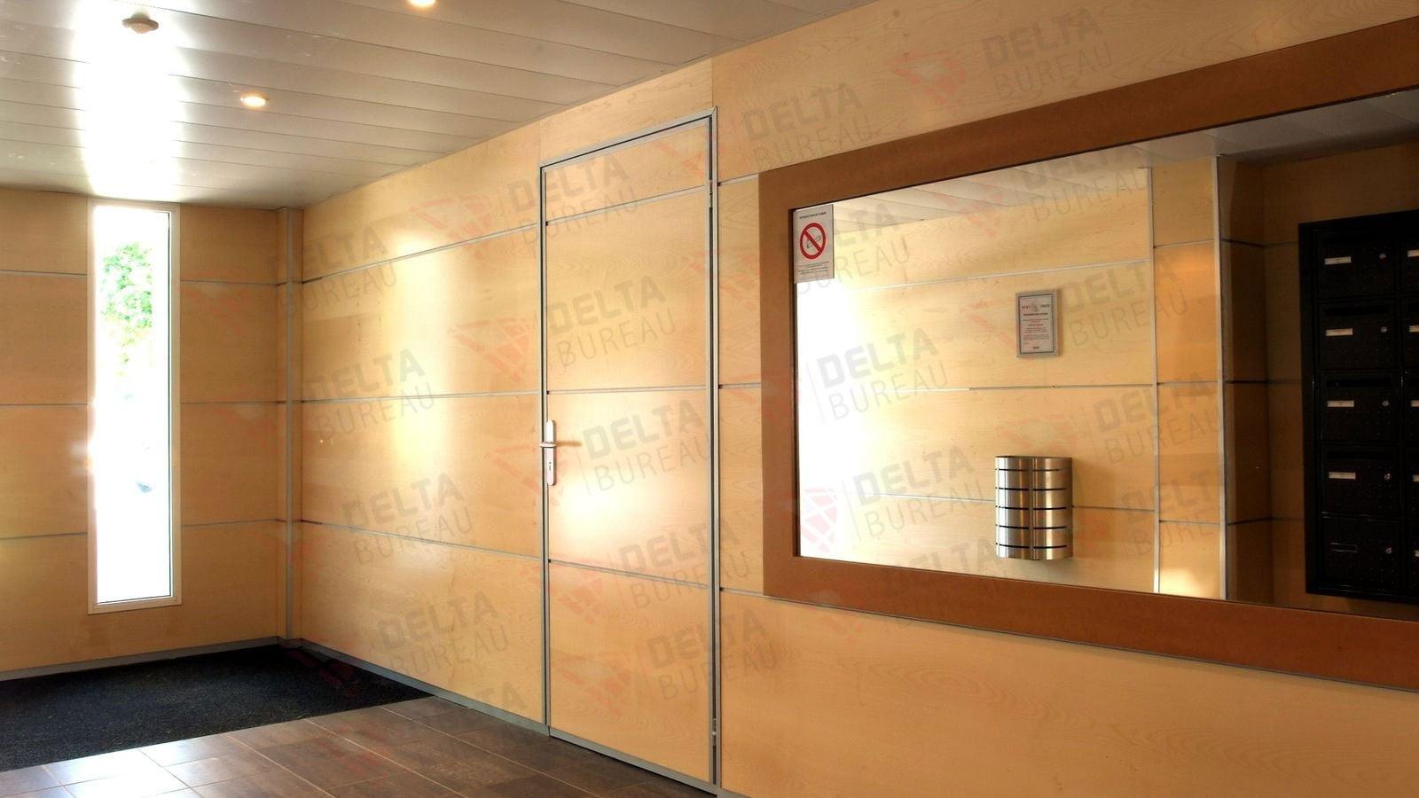 Habillage De Mur Intérieur habillage mural – delta bureau